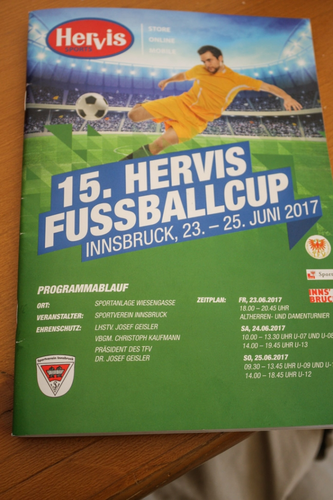 15. HERVIS-Cup 2017 - Samstag B 32